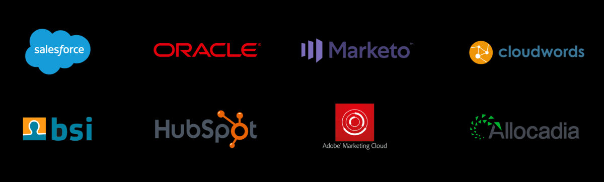 Technologie Partner Logos iundf Marketing Technology