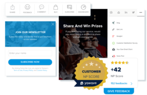 Engagement Tools in Yawave
