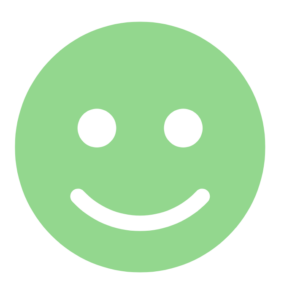 green smiley representing what you can do according to DSGVO